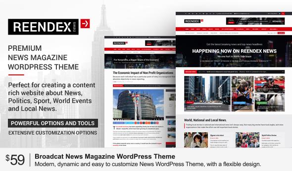 24h News I Magazine HTML Template - 1